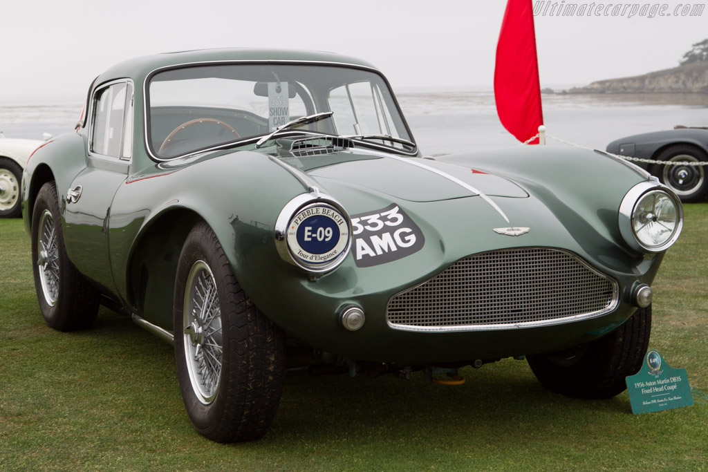 Aston Martin DB3S Coupe - Chassis: DB3S/120 - Entrant: Helena 506  - 2013 Pebble Beach Concours d'Elegance