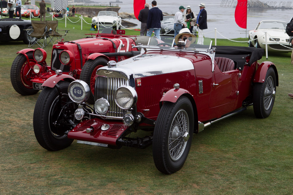 Aston Martin Mk II Long Chassis 2/4 Seater  - Entrant: Richard Atwell  - 2013 Pebble Beach Concours d'Elegance