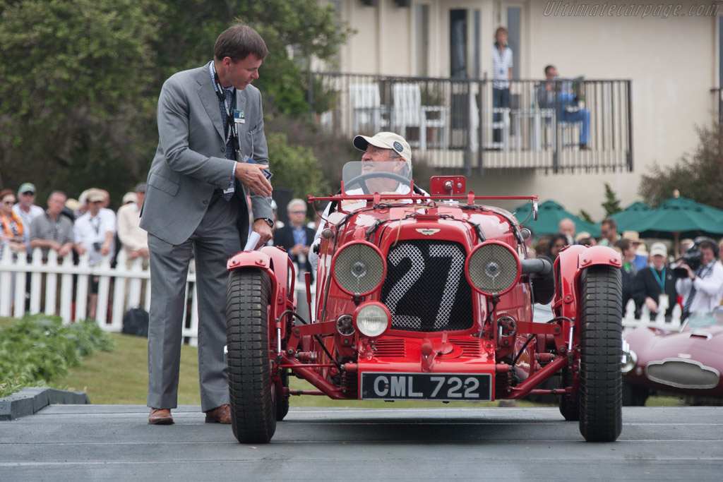 Aston Martin Ulster - Chassis: LM18 - Entrant: Nick Mason  - 2013 Pebble Beach Concours d'Elegance