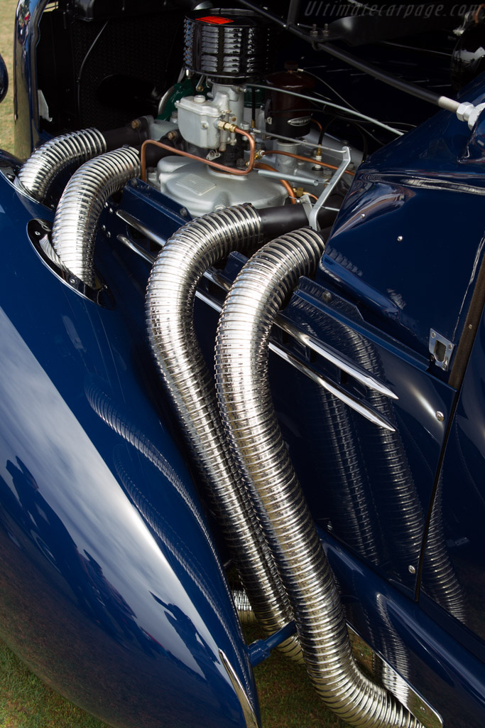 Auburn 851 Speedster  - Entrant: Lammot J. du Pont  - 2013 Pebble Beach Concours d'Elegance