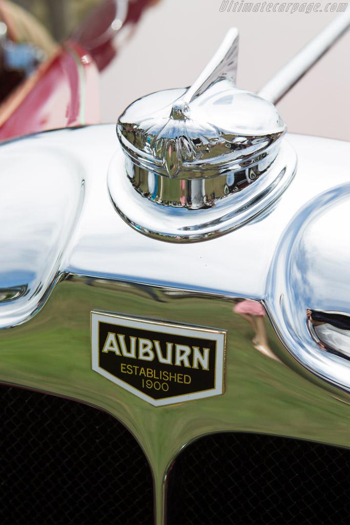 Auburn 88 Speedster  - Entrant: Karen Hutchinson  - 2013 Pebble Beach Concours d'Elegance