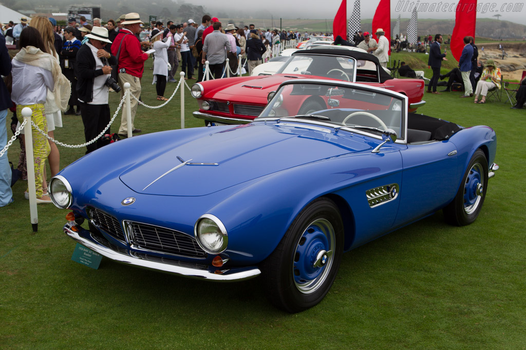 BMW 507 - Chassis: 70138 - Entrant: Charals & Diana Haagen - 2013 Pebble Beach Concours d'Elegance