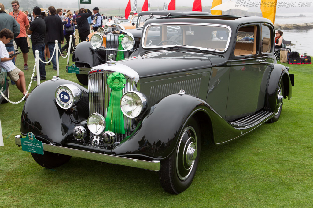 Bentley 4.25 Litre Vanvooren Coupe  - Entrant: Mark & Kim Hyman  - 2013 Pebble Beach Concours d'Elegance