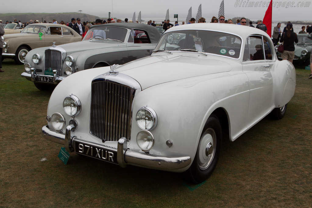 Bentley R-Type Continental Mulliner Sports Saloon - Chassis: BC7A - Entrant: Olav Glasius  - 2013 Pebble Beach Concours d'Elegance