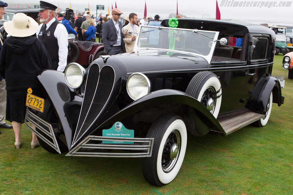 Brewster Town Car  - Entrant: Don & Diane Weir  - 2013 Pebble Beach Concours d'Elegance