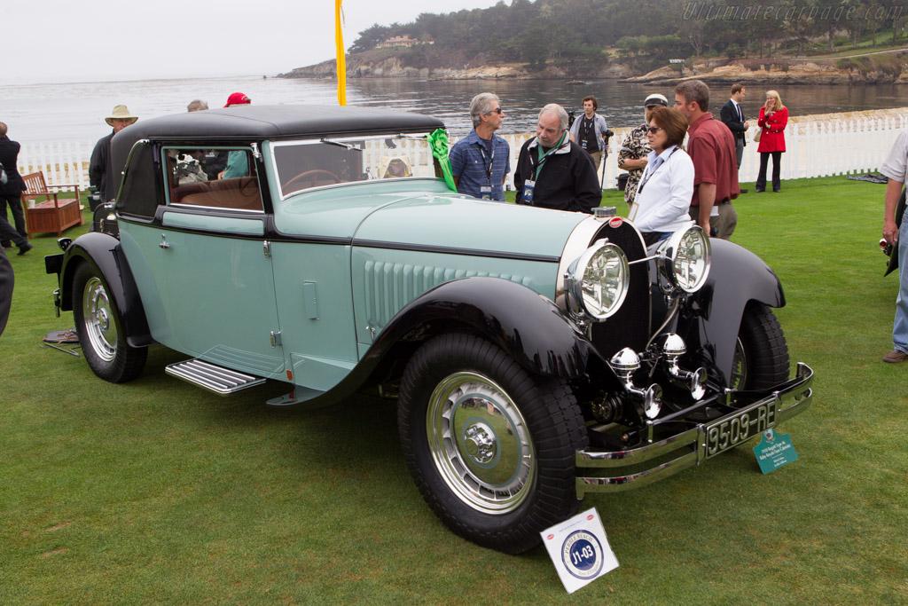 Bugatti Type 46 Faux Cabriolet - Chassis: 46405 - Entrant: Richard Adams  - 2013 Pebble Beach Concours d'Elegance