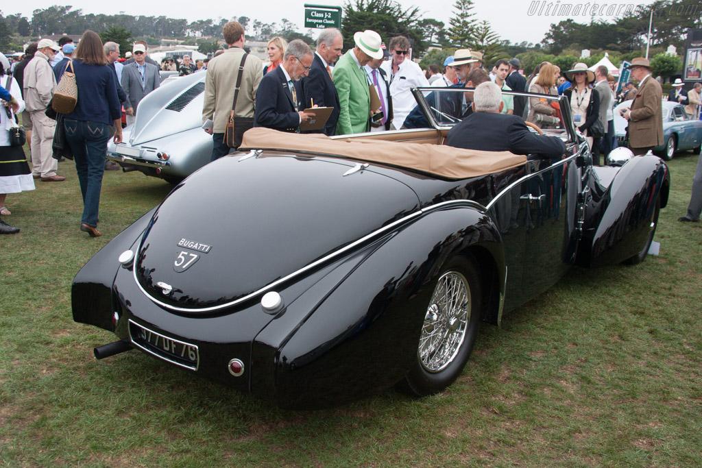 Bugatti Type 57C Gangloff Stelvio  - Entrant: Steve Hamilton  - 2013 Pebble Beach Concours d'Elegance