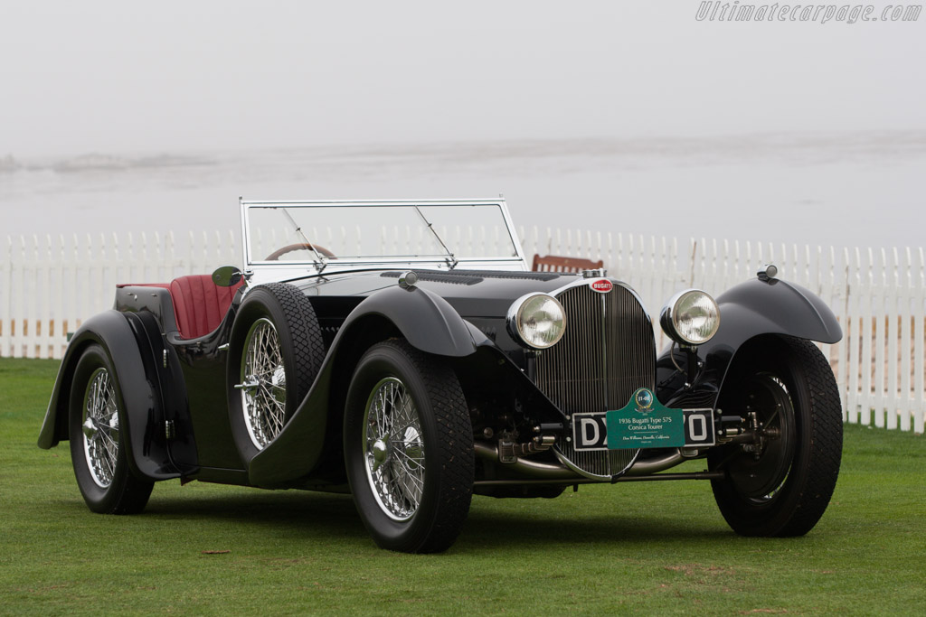 Bugatti Type 57S Corsica Roadster - Chassis: 57512 - Entrant: Don Williams  - 2013 Pebble Beach Concours d'Elegance