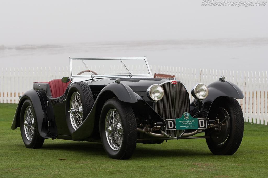 Bugatti Type 57S Corsica Roadster - Chassis: 57512 - Entrant: Don Williams  - 2013 Pebble Beach Concours d'Elegance