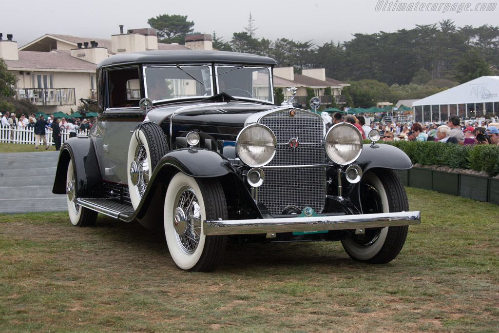 Cadillac 452 Fleetwood Coupe  - Entrant: Rudy Langer  - 2013 Pebble Beach Concours d'Elegance