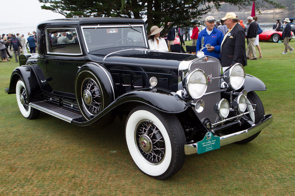 Cadillac 452A Fleetwood Coupe  - Entrant: Brent Merrill  - 2013 Pebble Beach Concours d'Elegance