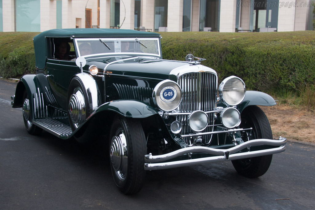 Duesenberg J Rollston Victoria - Chassis: J104 - Entrant: Ralph & Adeline Marano  - 2013 Pebble Beach Concours d'Elegance