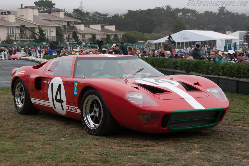 Ford GT40 - Chassis: GT40P/1040 - Entrant: Henry A. Davis - 2013 Pebble Beach Concours d'Elegance