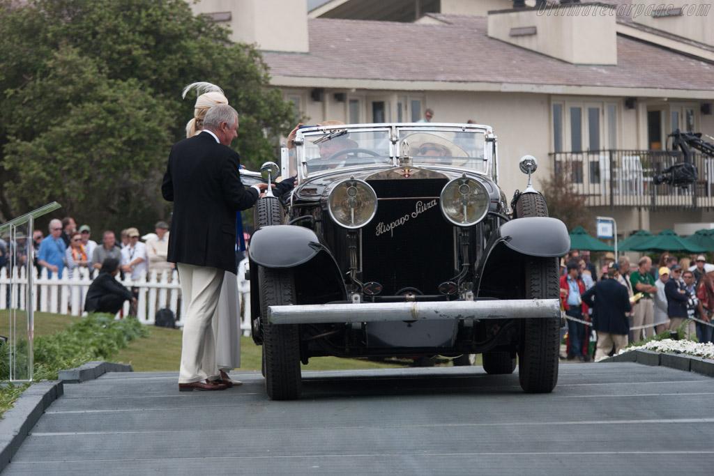 Hispano Suiza H6C d'Ieteren Transformable  - Entrant: Alan W. McEwan  - 2013 Pebble Beach Concours d'Elegance