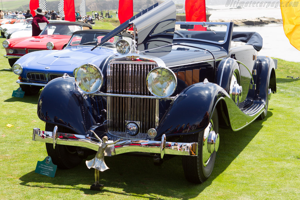 Hispano Suiza J12 Vanvooren Cabriolet - Chassis: 14004 - Entrant: Peter & Merle Mullin  - 2013 Pebble Beach Concours d'Elegance