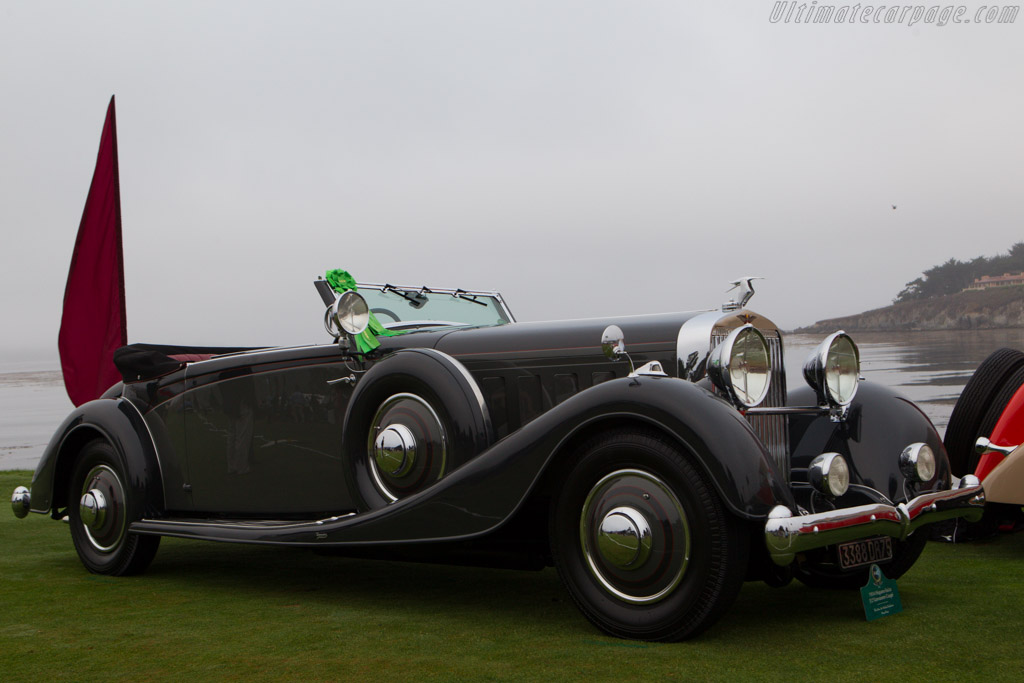 Hispano Suiza J12 Vanvooren Coupe  - Entrant: The Hon. Sir Michael Kadoorie  - 2013 Pebble Beach Concours d'Elegance