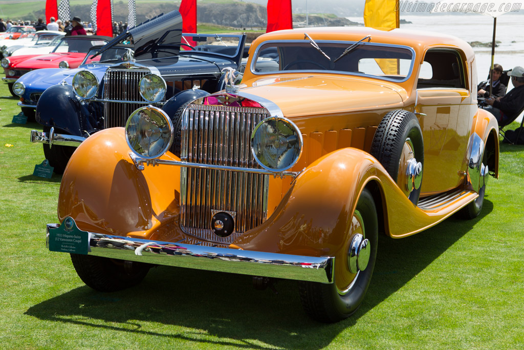 Hispano Suiza J12 Vanvooren Coupe - Chassis: 14015 - Entrant: The Keller Collection  - 2013 Pebble Beach Concours d'Elegance