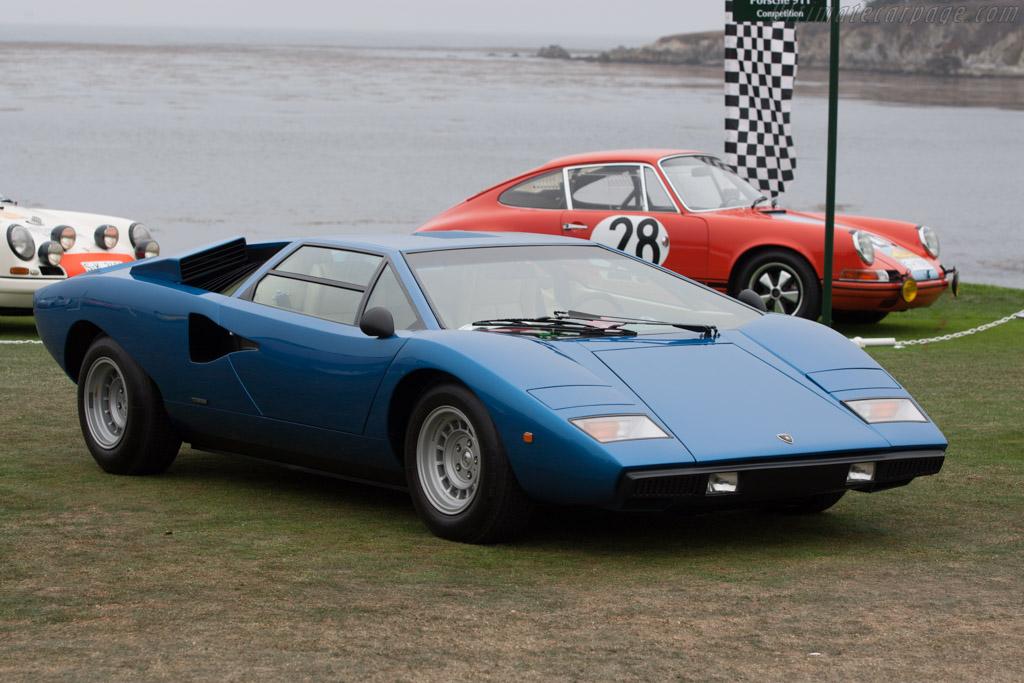 Lamborghini Countach  - Entrant: A. Shammas  - 2013 Pebble Beach Concours d'Elegance