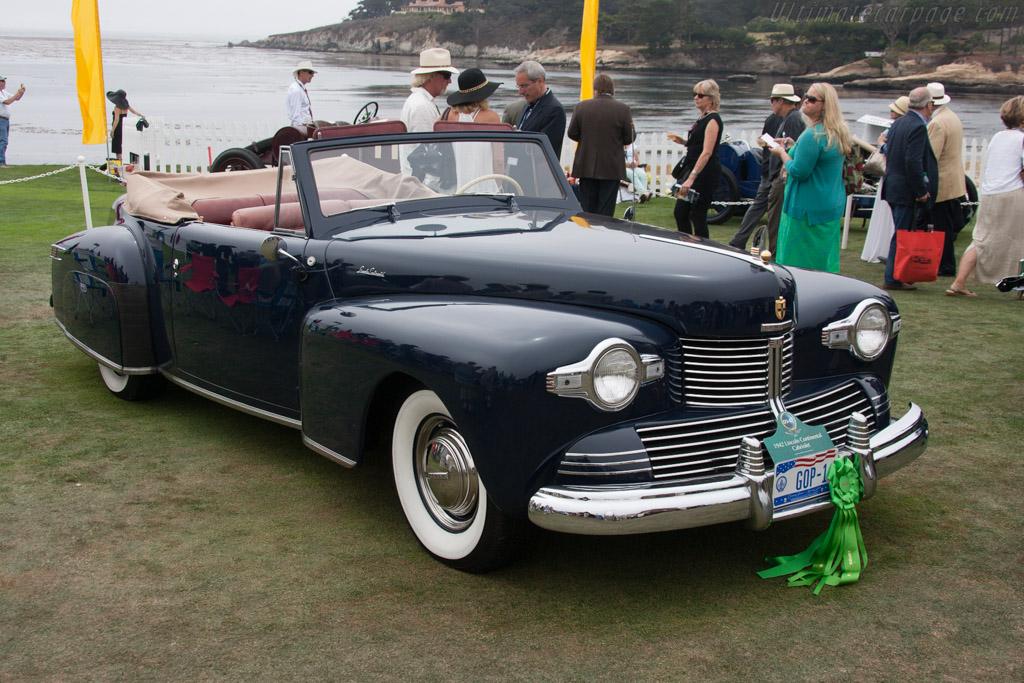 Lincoln Continental Cabriolet  - Entrant: David W. Johnson  - 2013 Pebble Beach Concours d'Elegance