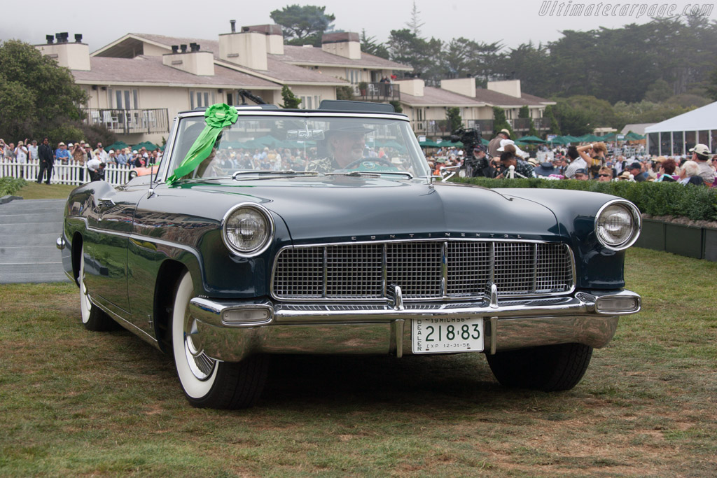 Lincoln Continental Mk II Hess & Eisenhardt Convertible  - Entrant: Glynette & Barry Wolk  - 2013 Pebble Beach Concours d'Elegance