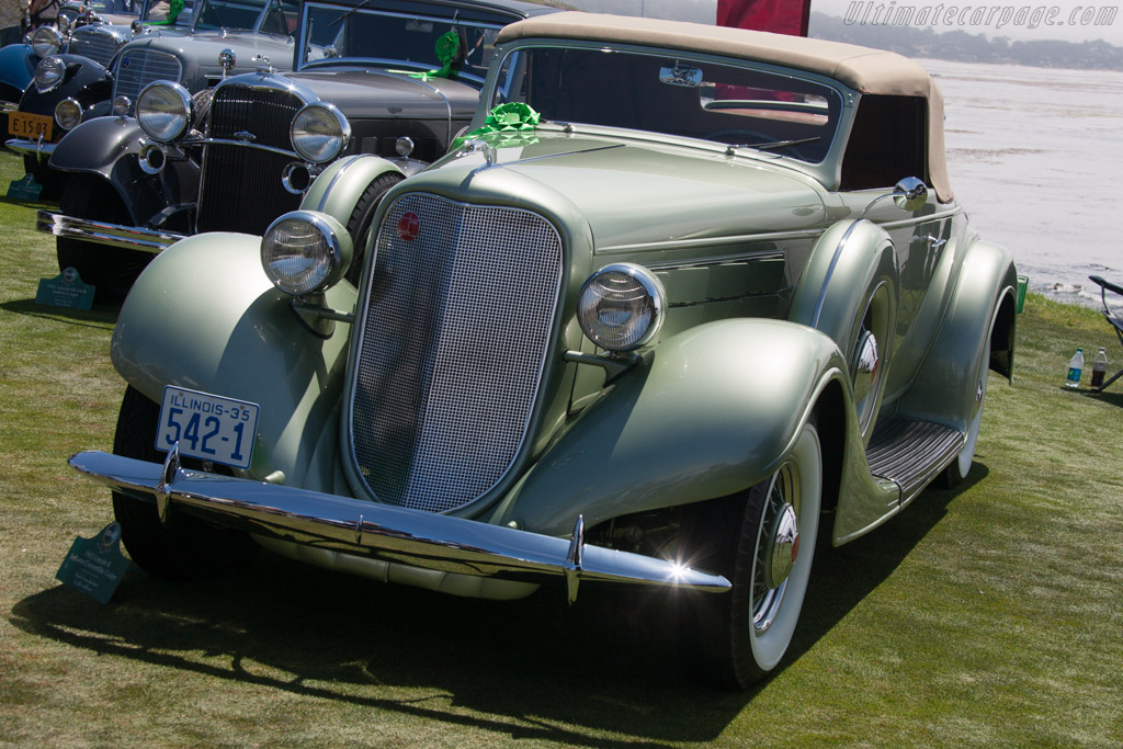 Lincoln K Twelve LeBaron Convertible Coupe  - Entrant: Chuck & Amy Spielman  - 2013 Pebble Beach Concours d'Elegance
