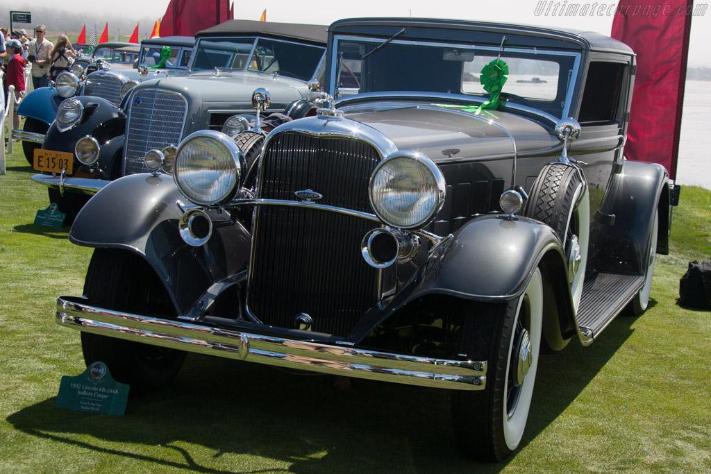 Lincoln KB 244A Judkins Coupe  - Entrant: Gene & Ann Nassau  - 2013 Pebble Beach Concours d'Elegance