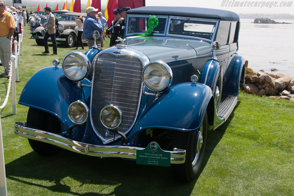 Lincoln KB Dietrich Convertible Sedan  - Entrant: Roger Willbanks  - 2013 Pebble Beach Concours d'Elegance