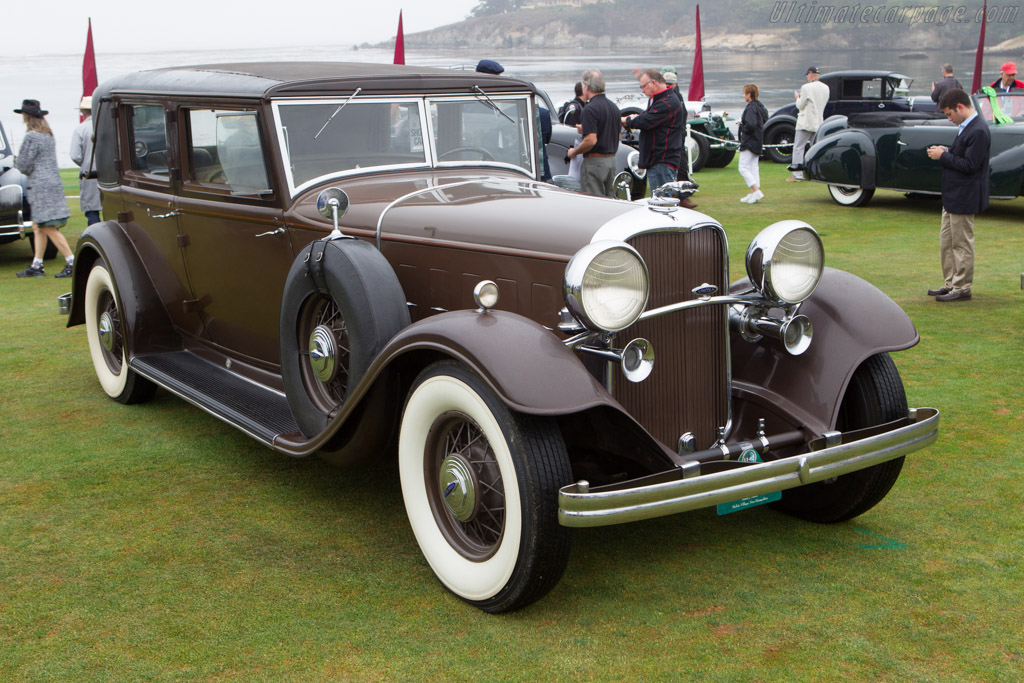 Lincoln KB Judkins Berline  - Entrant: Mark J. Smith  - 2013 Pebble Beach Concours d'Elegance