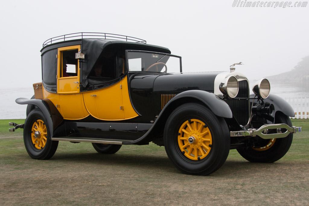 Lincoln L 134B Judkins Coaching Brougham  - Entrant: National Automobile Museum  - 2013 Pebble Beach Concours d'Elegance