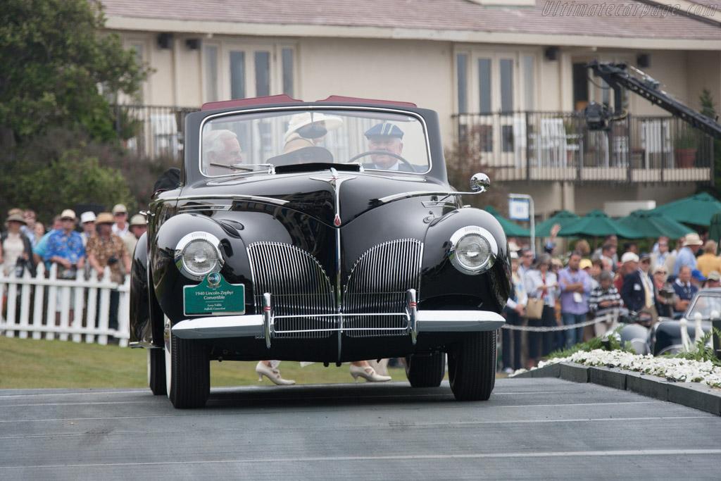 Lincoln Zephyr Convertible  - Entrant: Larry Tribble  - 2013 Pebble Beach Concours d'Elegance