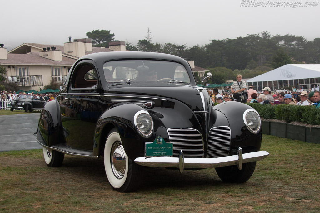 Lincoln Zephyr Coupe  - Entrant: Academy of Art University  - 2013 Pebble Beach Concours d'Elegance