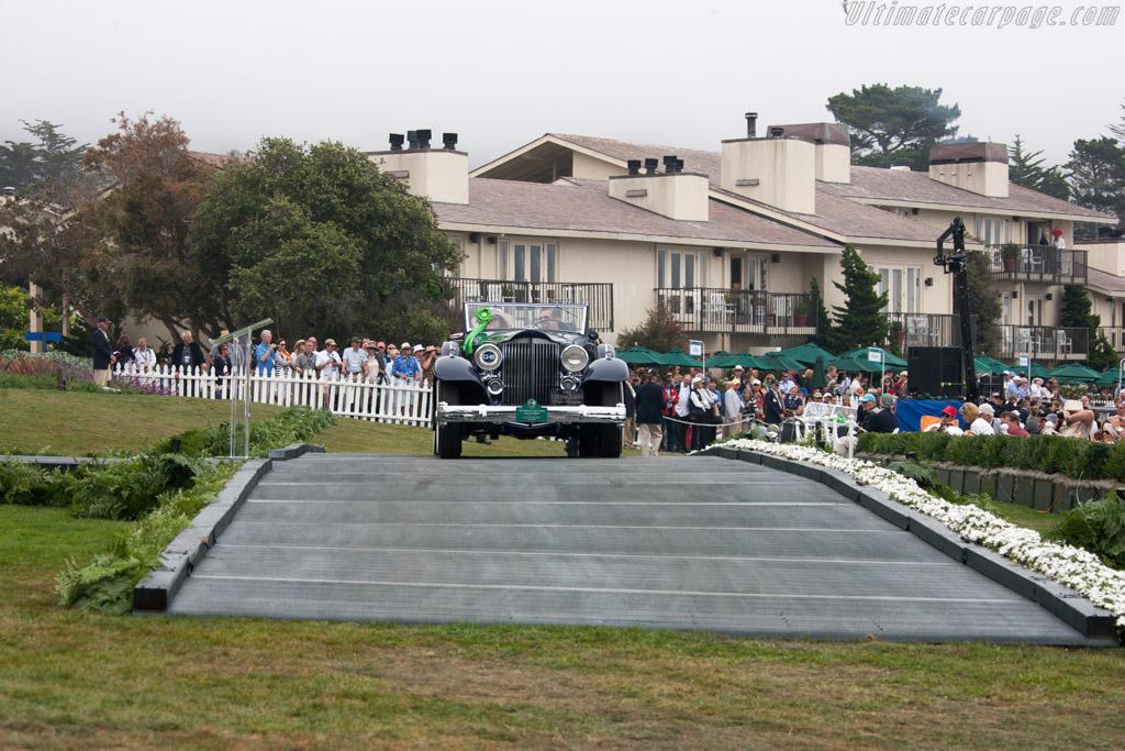 Packard 1005 Twelve Coupe Roadster  - Entrant: Margaret & Christopher Duhon  - 2013 Pebble Beach Concours d'Elegance