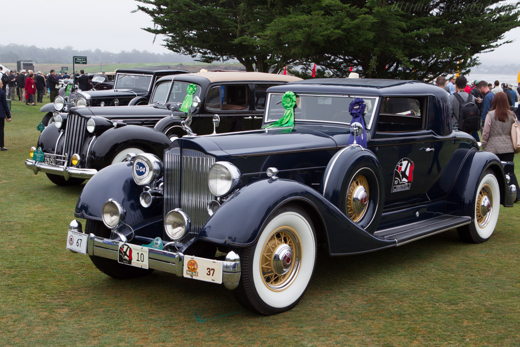 Packard 1107 Twelve Coupe  - Entrant: Dave & Linda Kane  - 2013 Pebble Beach Concours d'Elegance