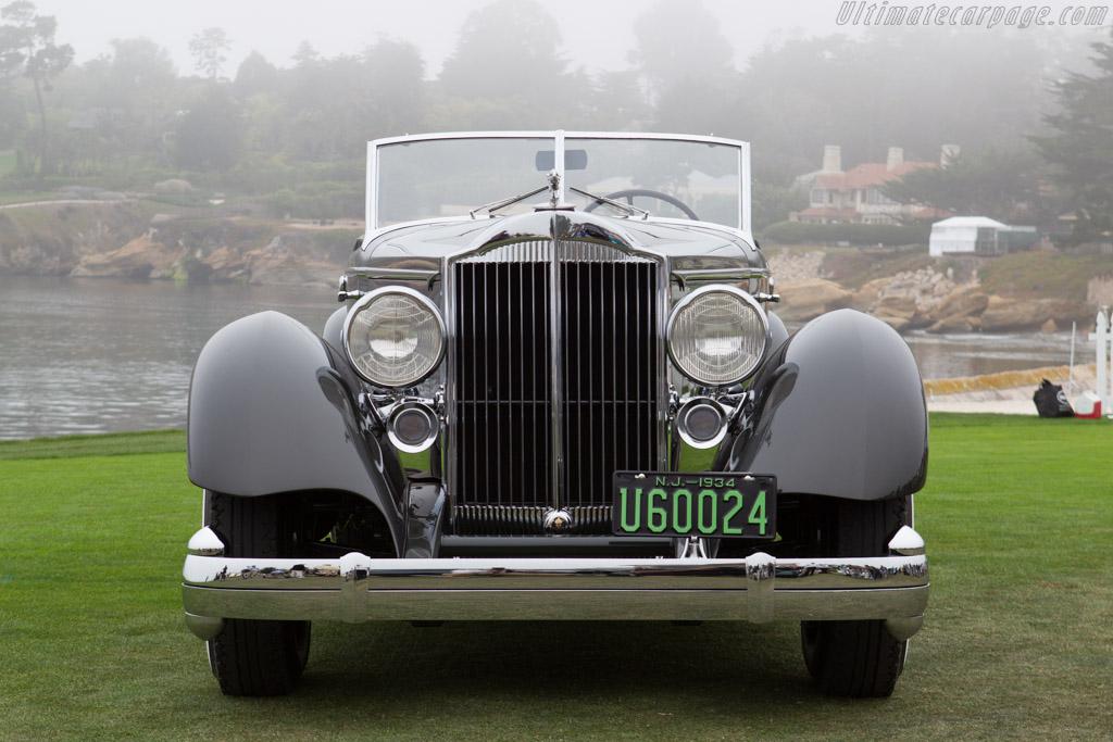 Packard 1108 Twelve Dietrich Convertible Victoria  - Entrant: Joseph & Margie Cassini III  - 2013 Pebble Beach Concours d'Elegance