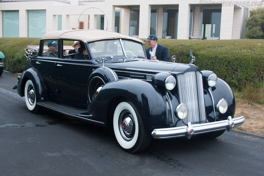 Packard 1608 Twelve All Weather Cabriolet  - Entrant: Michelle & Martin Cousineau  - 2013 Pebble Beach Concours d'Elegance