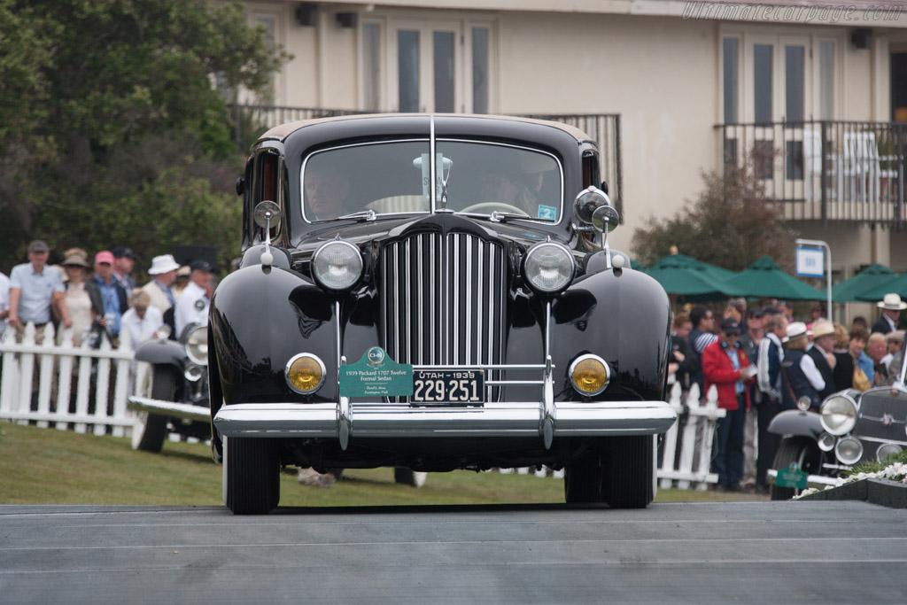 Packard 1707 Twelve Formal Sedan  - Entrant: David L. Stone  - 2013 Pebble Beach Concours d'Elegance