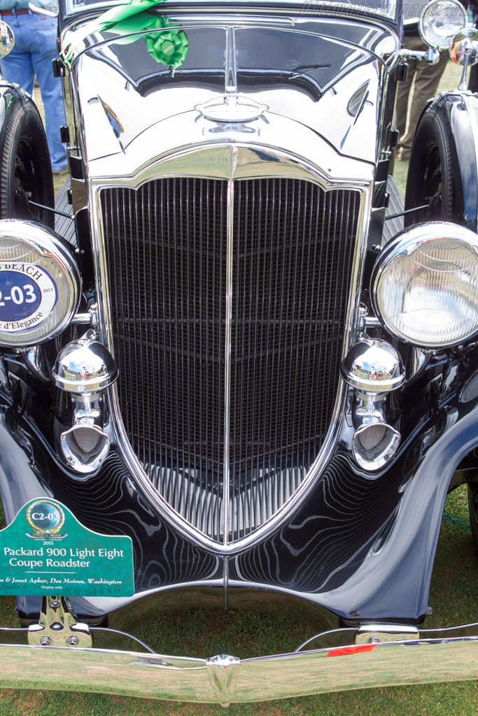 Packard 900 Light Eight Coupe Roadster  - Entrant: Gordon & Janet Apker  - 2013 Pebble Beach Concours d'Elegance