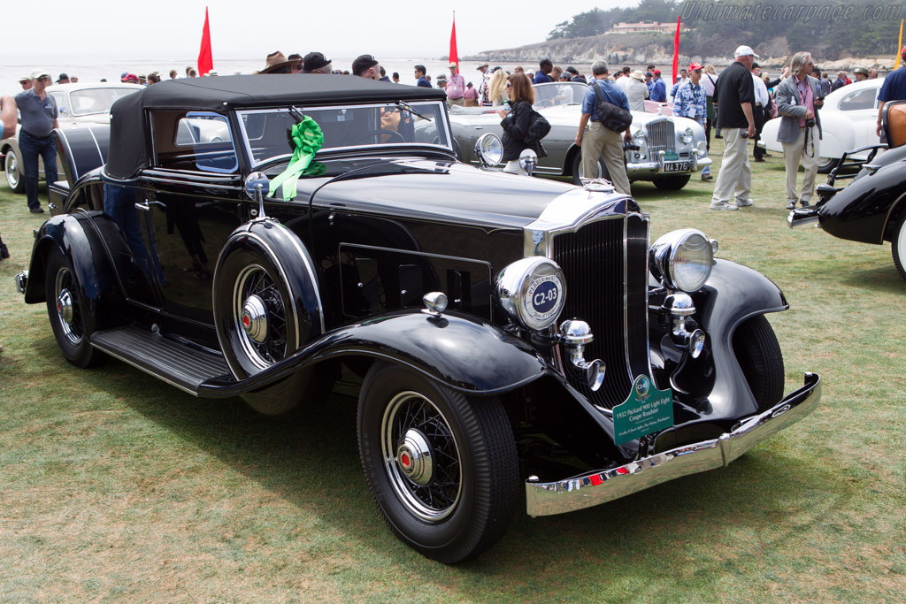 Packard 900 Light Eight Coupe Roadster  - Entrant: Gordon & Janet Apker  - 2013 Pebble Beach Concours d'Elegance