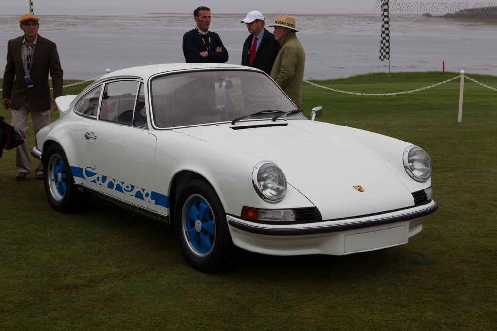 Porsche 911 Carrera RS 2.7 - Chassis: 911 360 0635 - Entrant: Dr. William J. Morris and Mary C. Young  - 2013 Pebble Beach Concours d'Elegance