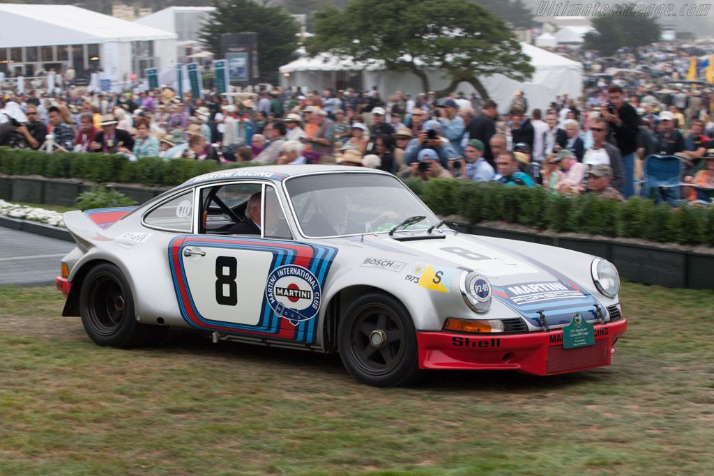 Porsche 911 Carrera RSR - Chassis: 911 360 0588 - Entrant: Fica Frio Limited  - 2013 Pebble Beach Concours d'Elegance