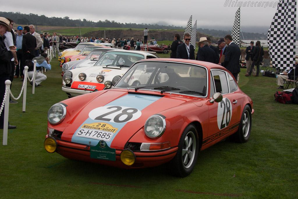 Porsche 911 S GT  - Entrant: George Reilly  - 2013 Pebble Beach Concours d'Elegance