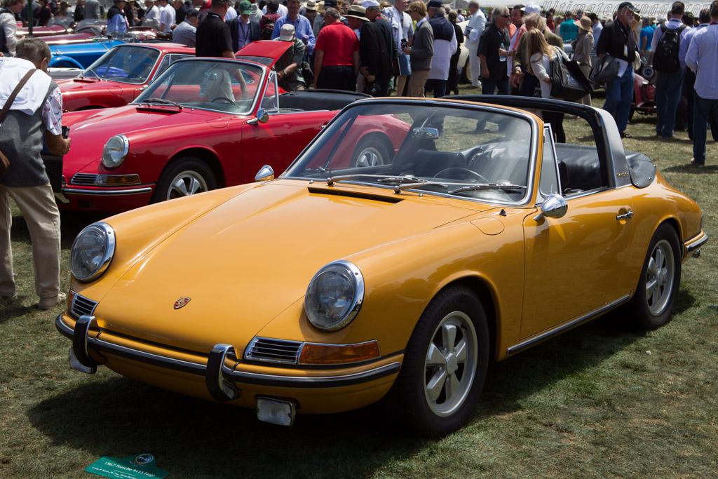 Porsche 911 S Targa  - Entrant: Craig & Susan McCaw  - 2013 Pebble Beach Concours d'Elegance