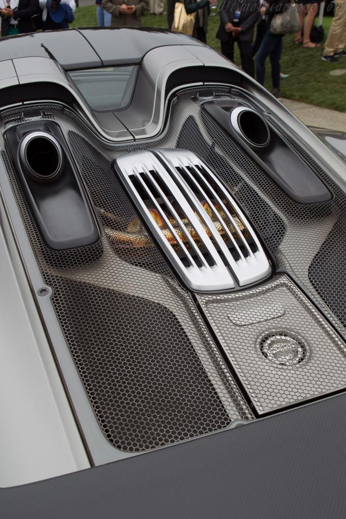 Porsche 918 Spyder    - 2013 Pebble Beach Concours d'Elegance