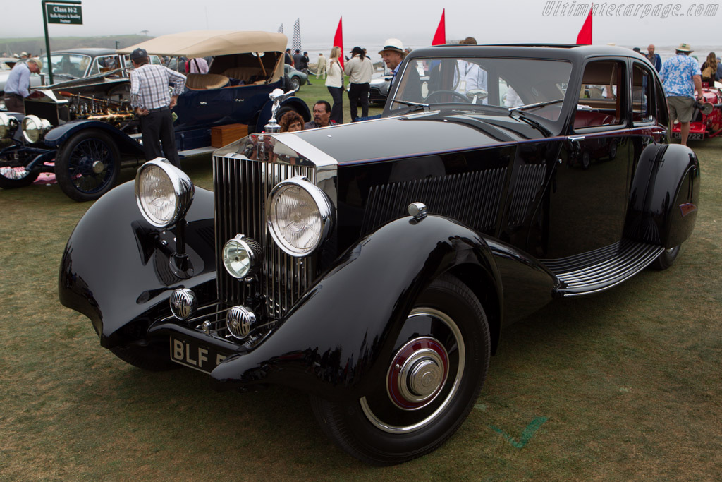 Rolls-Royce Phantom II Park Ward Streamline Saloon  - Entrant: Tony Vincent  - 2013 Pebble Beach Concours d'Elegance