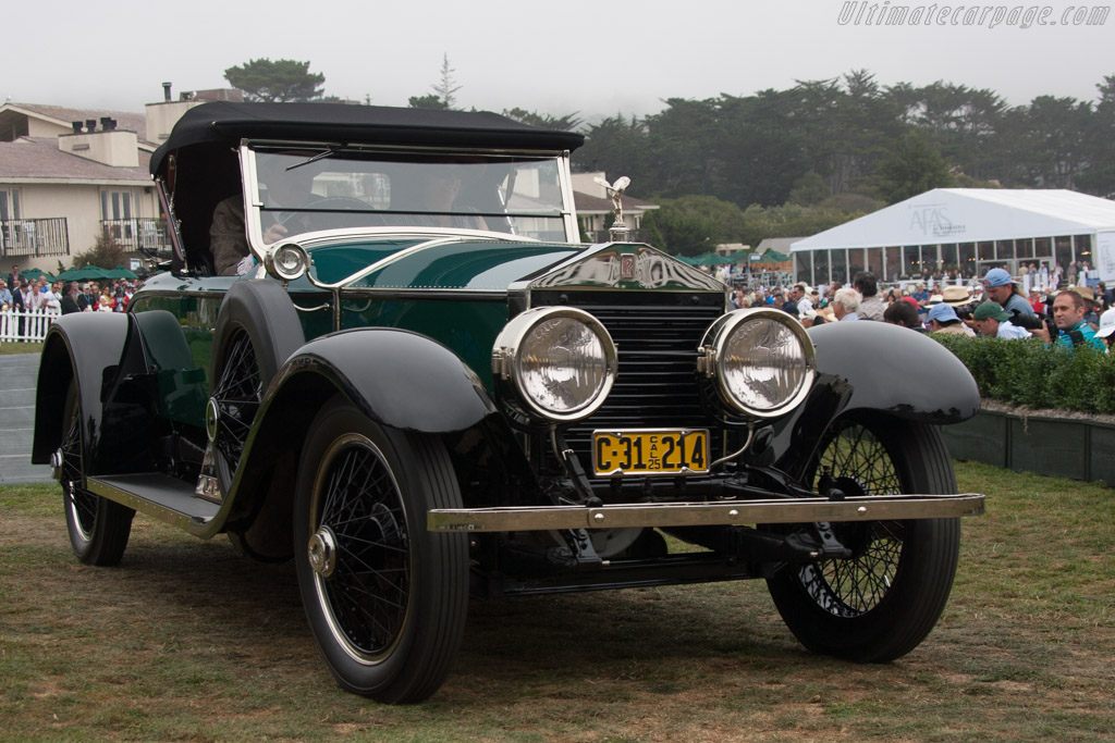 Rolls-Royce Silver Ghost Merrimac Piccadilly - Chassis: S77LK - Entrant: Robin Onsoien  - 2013 Pebble Beach Concours d'Elegance