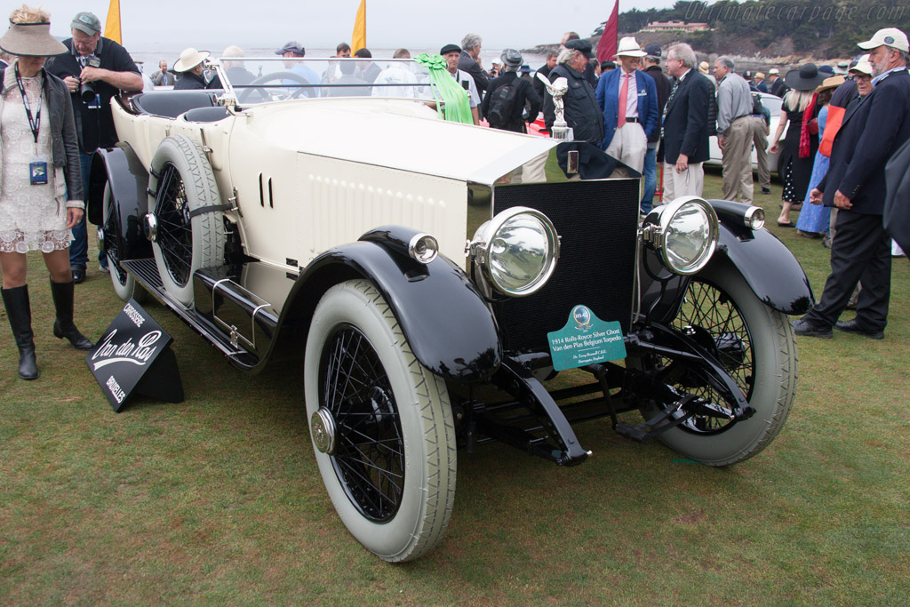 Rolls-Royce Silver Ghost Van Den Plas Torpedo - Chassis: 26RB - Entrant: Dr. Terry Bramall  - 2013 Pebble Beach Concours d'Elegance