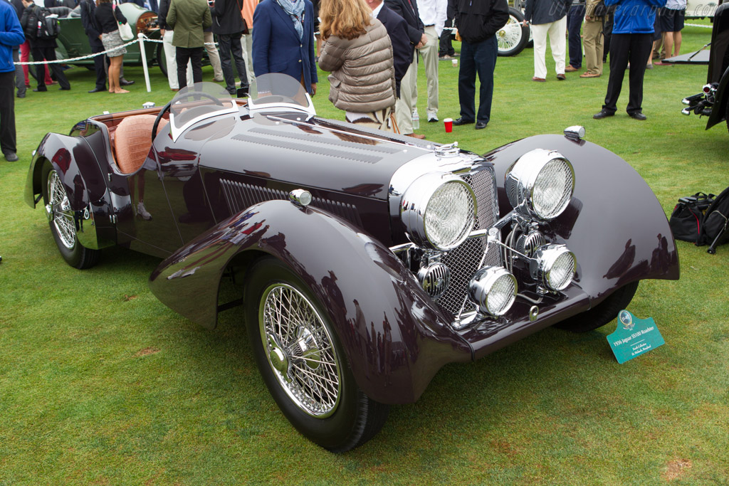 SS 100 Jaguar Roadster - Chassis: 18023 - Entrant: North Collection  - 2013 Pebble Beach Concours d'Elegance