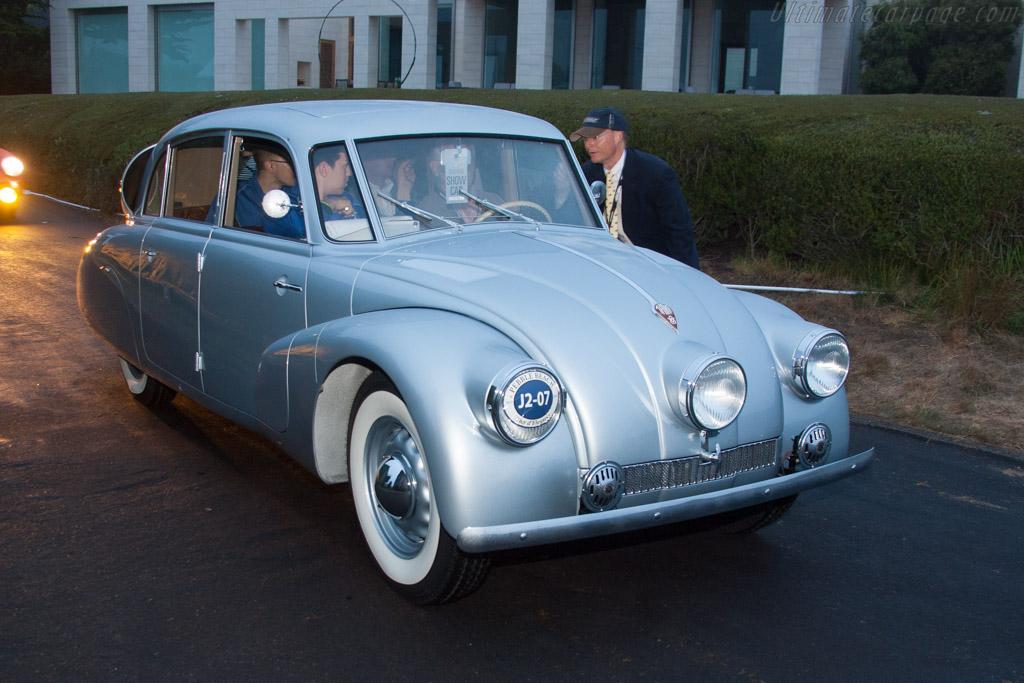 Tatra T87 Sedan - Chassis: 49507 - Entrant: John & Sonia Breslow  - 2013 Pebble Beach Concours d'Elegance