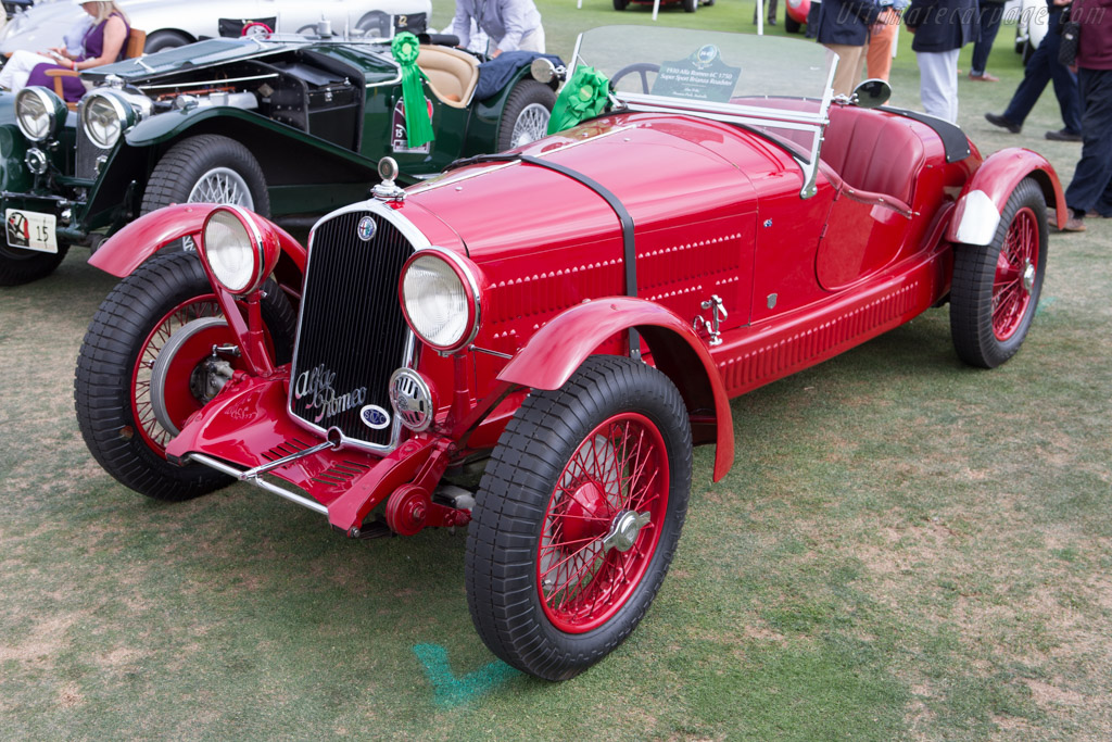 Alfa Romeo 6C 1750 Brianza Roadster - Chassis: 8613255 - Entrant: Alan Tribe  - 2014 Pebble Beach Concours d'Elegance