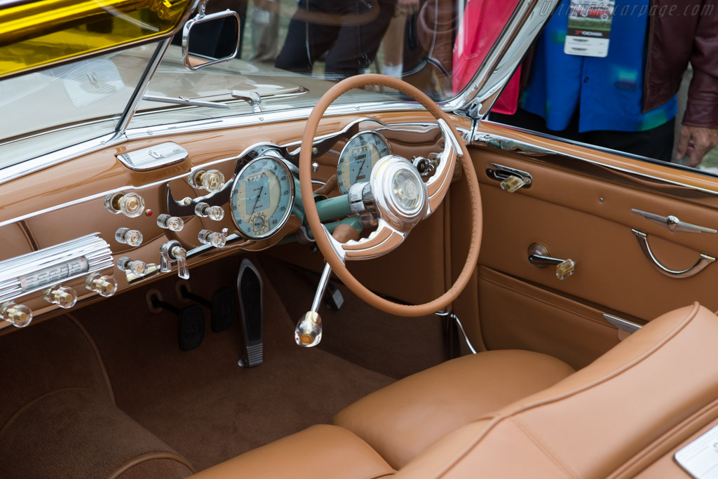 Alfa Romeo 6C 2500 S Pinin Farina Cabriolet Speciale - Chassis: 915169 - Entrant: Christopher Ohrstrom  - 2014 Pebble Beach Concours d'Elegance